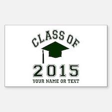 Class Of 2015 Graduation Decal