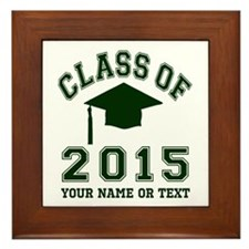 Class Of 2015 Graduation Framed Tile