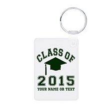 Class Of 2015 Graduation Aluminum Photo Keychain