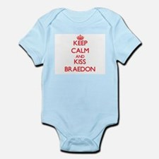 Keep Calm and Kiss Braedon Body Suit