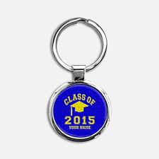 Class Of 2015 Round Keychain