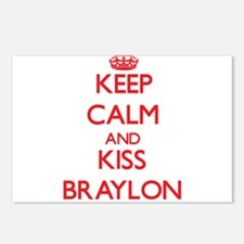 Keep Calm and Kiss Braylon Postcards (Package of 8
