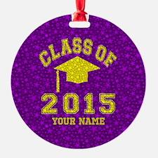 Class Of 2015 Graduation Ornament
