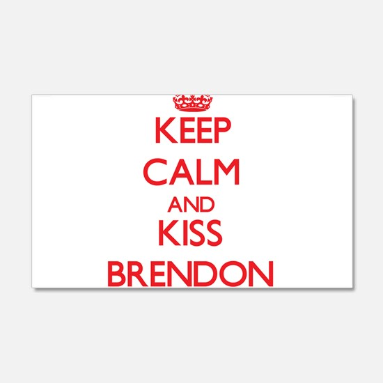 Keep Calm and Kiss Brendon Wall Decal
