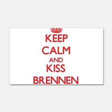 Keep Calm and Kiss Brennen Wall Decal