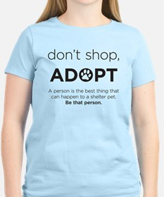 Dont Shop, Adopt T-Shirt