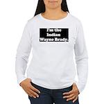 Indian Wayne Brady Women's Long Sleeve T-Shirt