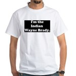 Indian Wayne Brady White T-Shirt