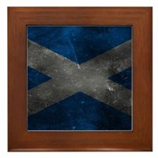Scotland Framed Tile