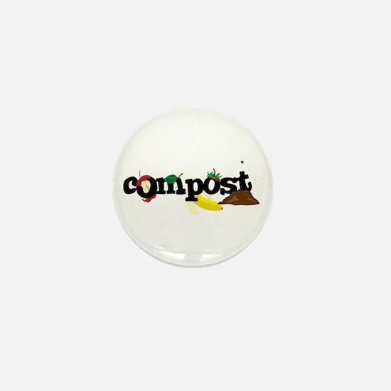 Compost Mini Button