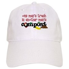 One mans trash is another mans Compost Baseball Ca