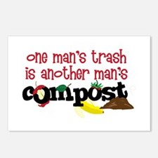One mans trash is another mans Compost Postcards (