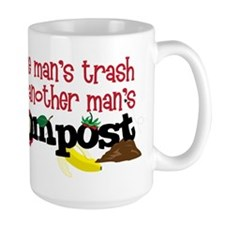 One mans trash is another mans Compost Mugs