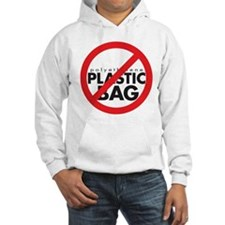No Plastic Bag Hoodie