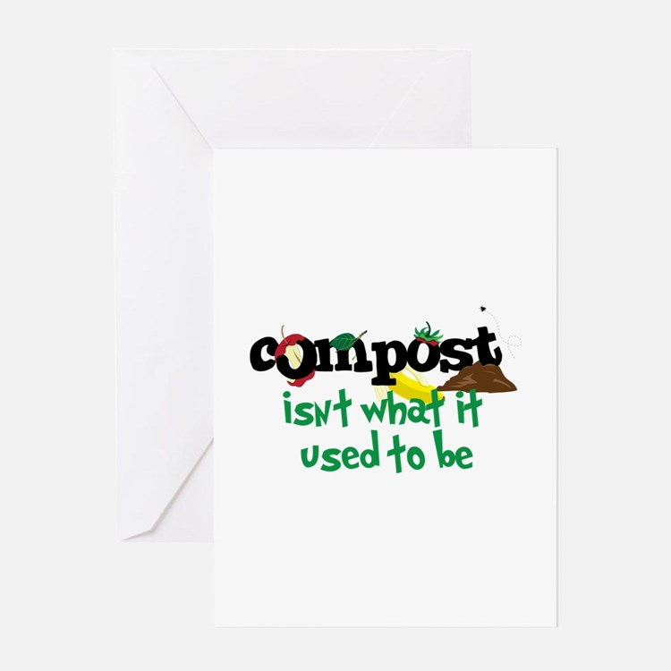 Compoct isNt what it used to be Greeting Cards