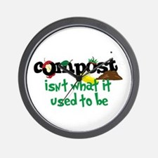 Compoct isNt what it used to be Wall Clock