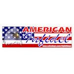 American Infidel Bumper Sticker