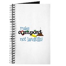 make compost not landfills ! Journal