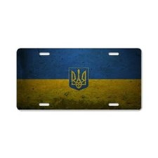 Ukraine Aluminum License Plate