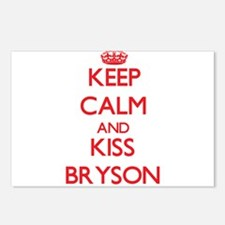 Keep Calm and Kiss Bryson Postcards (Package of 8)