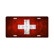 Switzerland Aluminum License Plate