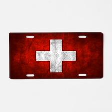 Switzerland Aluminum License Plate
