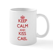Keep Calm and Kiss Cael Mugs