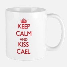 Keep Calm and Kiss Cael Mugs