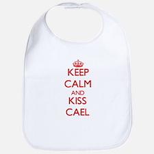 Keep Calm and Kiss Cael Bib