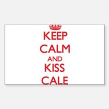 Keep Calm and Kiss Cale Decal