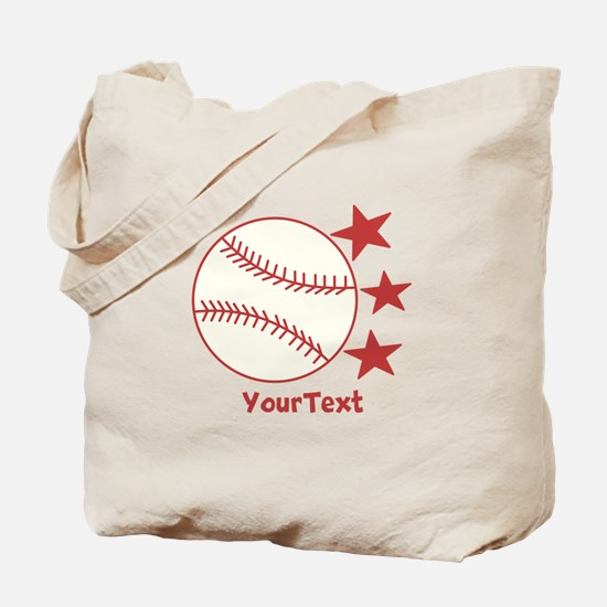 CUSTOMIZE Baseball Tote Bag