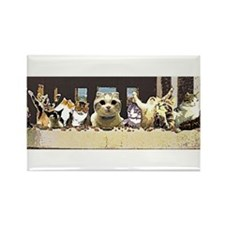 Cat Last Supper Magnets