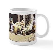 Cat Last Supper Mugs