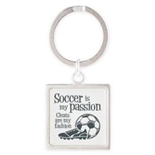 CLEATS Square Keychain