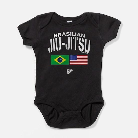 Brazilian Jiu-Jitsu (USA) Baby Bodysuit