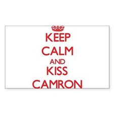 Keep Calm and Kiss Camron Bumper Stickers