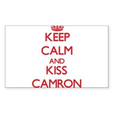 Keep Calm and Kiss Camron Decal