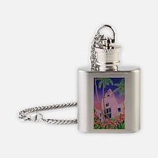 Royal Hawaiian Hotel Flask Necklace
