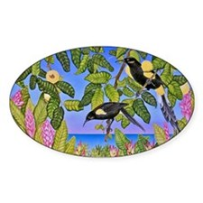 O'o Hawaiian Birds Decal