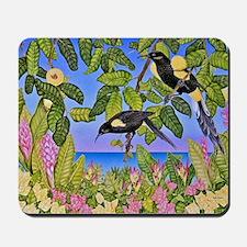 O'o Hawaiian Birds Mousepad