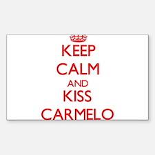 Keep Calm and Kiss Carmelo Decal
