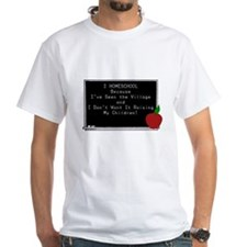 HS Teacher Shirt/w blackboard quote