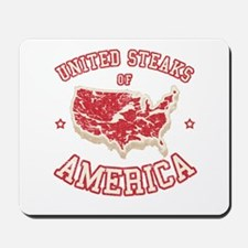 United Steaks of America Mousepad