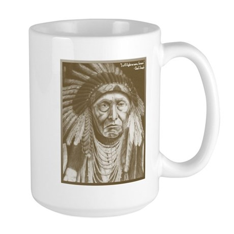 Chief Joseph Large Mug