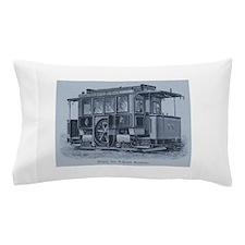 Vintage Trolley Pillow Case