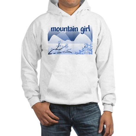 Mountain Girl Hooded Sweatshirt