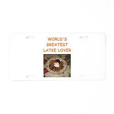 LATKES2 Aluminum License Plate