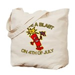 Happy Firecracker Tote Bag