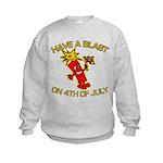 Happy Firecracker Kids Sweatshirt