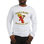 Happy Firecracker Long Sleeve T-Shirt